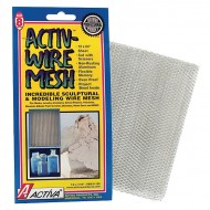 ACTIVA® Activ-Wire Mesh Flexible Sculpture Material, 12-inch x 24-inch Sheet