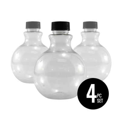 Sandtastik® Round Sand Art Bottles, Set of 4