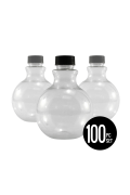 Round Sand Art Bottles, Set of 100