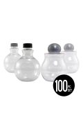 Round Sand Art Bottles Variety Set (100 pcs)