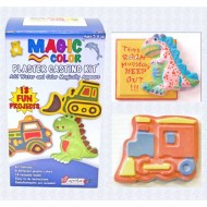Activa® Magic Color™ Plaster Casting Kit - Boys