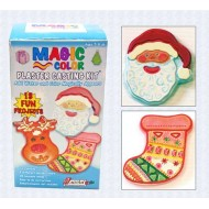 Activa® Magic Color™ Plaster Casting Kit -Holiday
