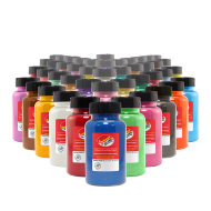 Complete Classic Colored Sand 22 oz Bottle Set - 40 Bottles