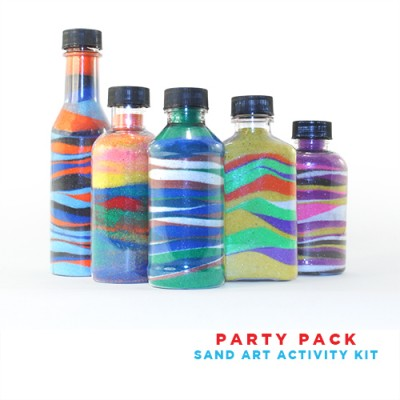 Party Pack Sand Art Activity Kit