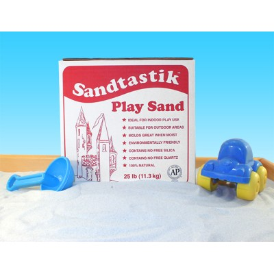 Sandtastik® Sparkling White Play Sand. World's Safest Sand!