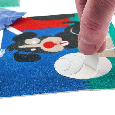 Sandtastik® Peel 'N Stick Sand Art Board #19 - Goldfish