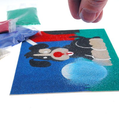 Sandtastik® Peel 'N Stick Sand Art Board #14 - Walking On The Moon