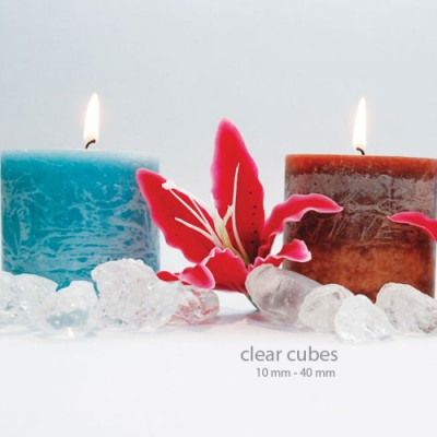 Colored ICE - Clear Cubes