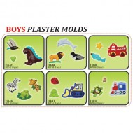 Plaster Molds - Boys