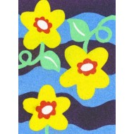 Sandtastik® Peel 'N Stick Sand Art Board #6 - Flowers In Bloom
