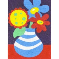 Sandtastik® Peel 'N Stick Sand Art Board #7 - Fresh Flowers In A Vase