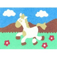 Sandtastik® Peel 'N Stick Sand Art Board #10 - Galloping Horse
