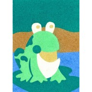 Sandtastik® Peel 'N Stick Sand Art Board #13 - Mr. Frog