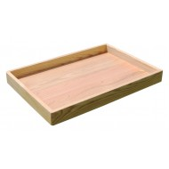Oak Play Therapy Sand Tray (Plain) + BONUS Play Sand