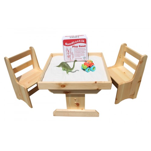 Sandtastik® Sand Activity Table u0026 Chairs Set  sc 1 st  Sandtastik.com & Sandtastik® Sand Table u0026 Chairs Set + BONUS Play Sand